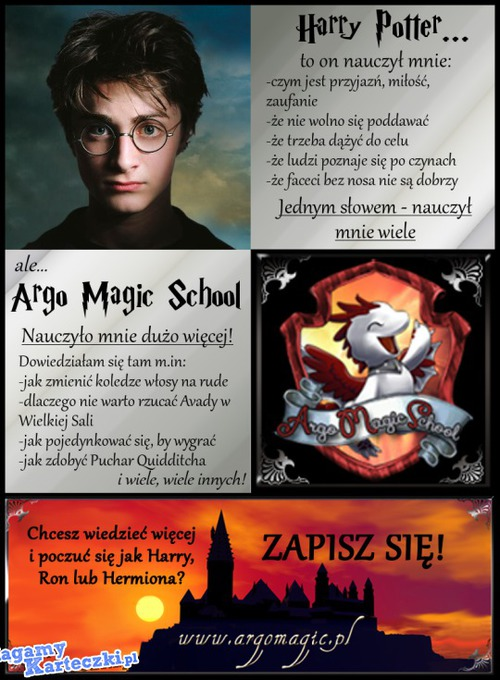 Argo Magic School zaprasza! –